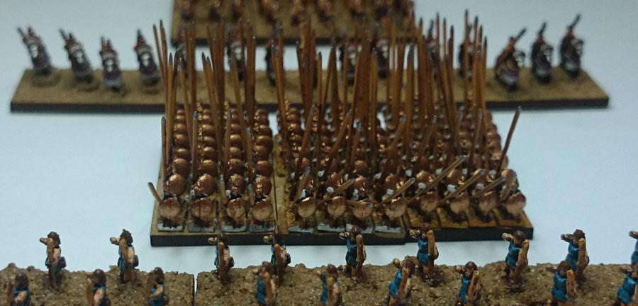 Seleucid Pikemen by Baccus 6mm