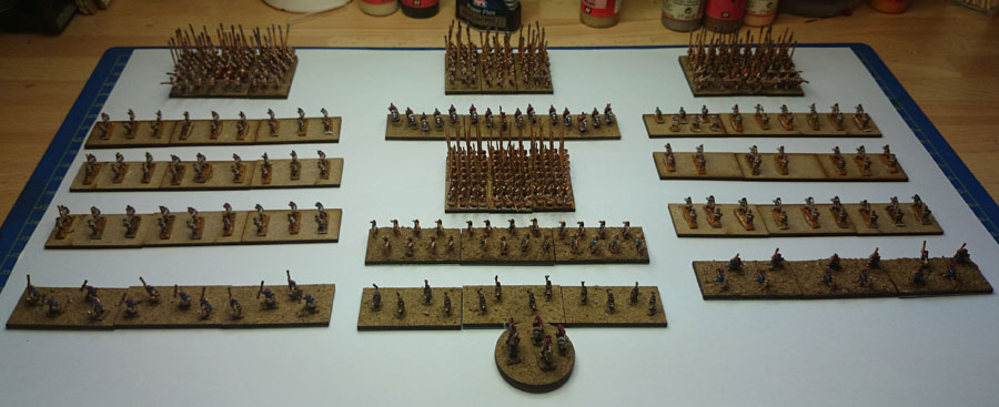 The Seleucid Army - as it stands
