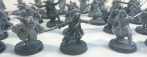 Aragorn leading the Rangers
